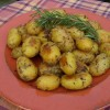 Roasted Garlic-Rosemary Potatoes