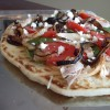 Greek Flatbread Pizza