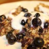 Blueberry Oatmeal Bake