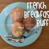 French Breakfast Puffs