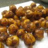 Sweet and Salty Roasted Chick Peas
