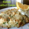 Baked Halibut Cakes