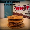 Malt Whopper Pudding Cookies