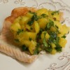 Salmon With Mango Chimichurri