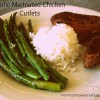 Garlic Marinated Chicken Cutlets