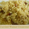Curried Walnut Couscous