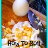 How to Boil Eggs (and avoid the Green Yolks)