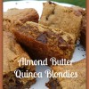 Almond Butter Quinoa Brownies