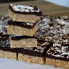 Chocolate & Coconut Cashew Bars